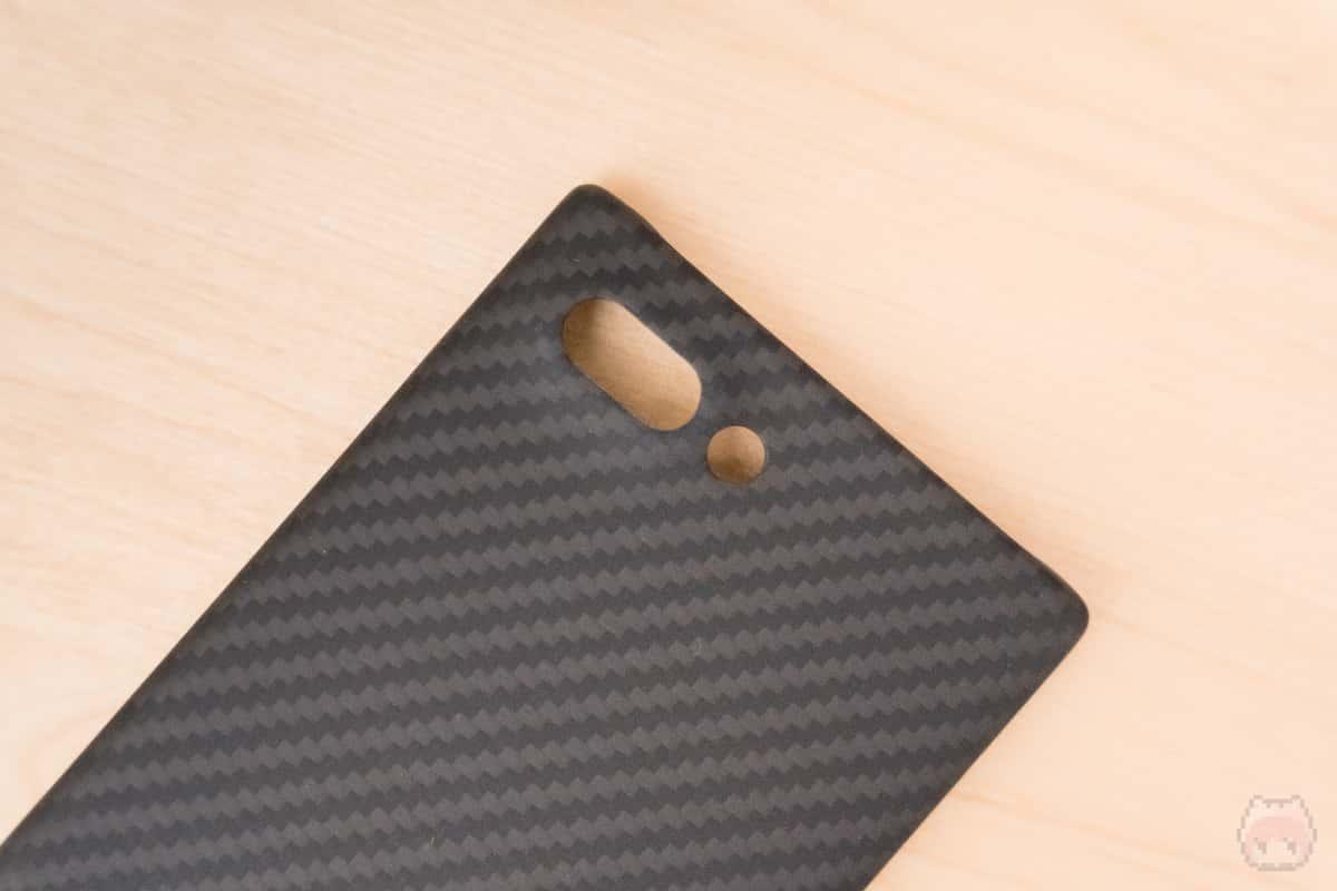 アラミド繊維でBlackBerryと調和する美しさ。