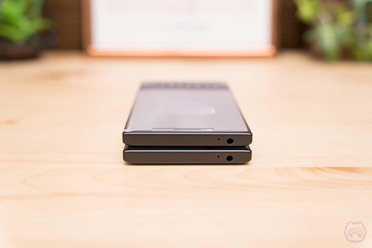 上:BlackBerry KEY2 Last Edition 下:BlackBerry KEY2