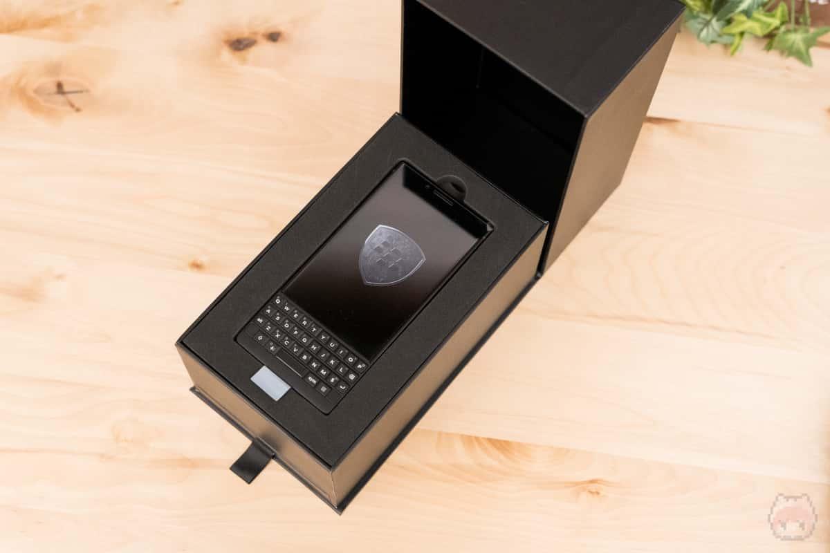 BlackBerry KEY2 Last Editionのパッケージ