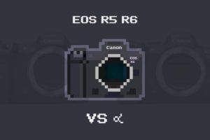 EOS R5・EOS R6 vs α9 II・α7 III 比較まとめ