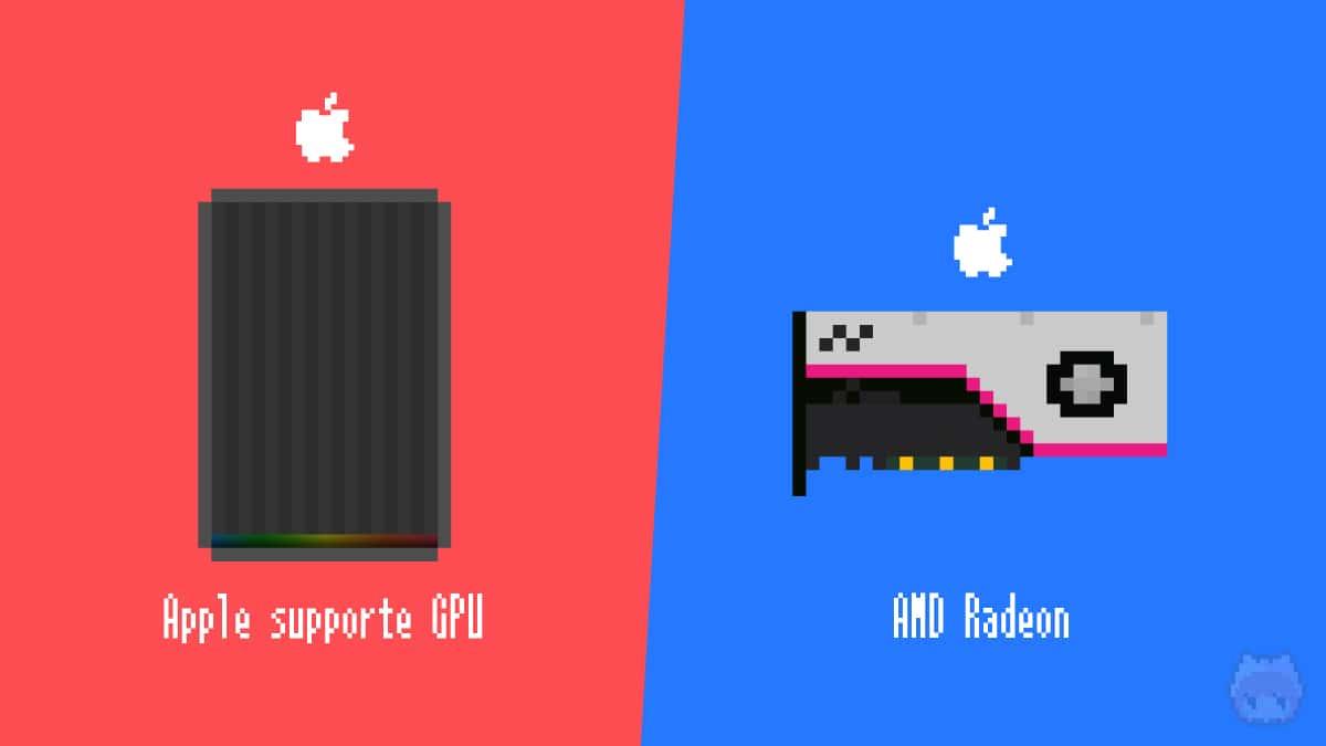 eGPUとグラフィックボードは、Appleがサポートする製品を選ぶ必要あり。