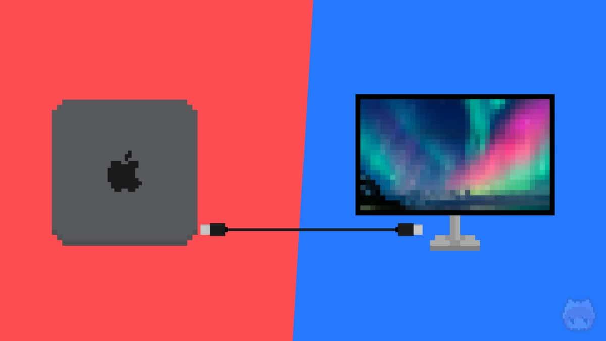 Mac mini用のディスプレイを選定。