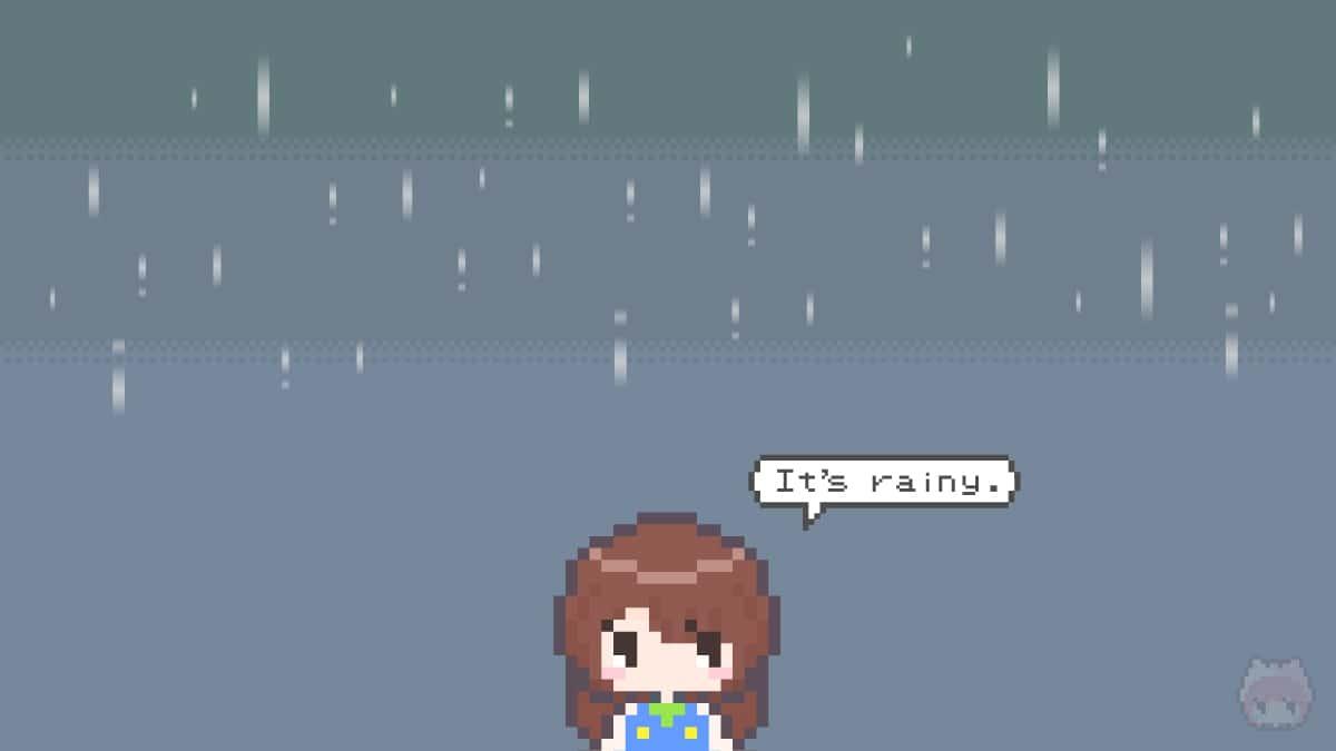 """ガジェットの大敵である""""雨""""の存在。"""
