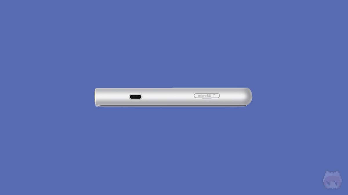 WM-PORTが廃止され、USB Type-Cになった。