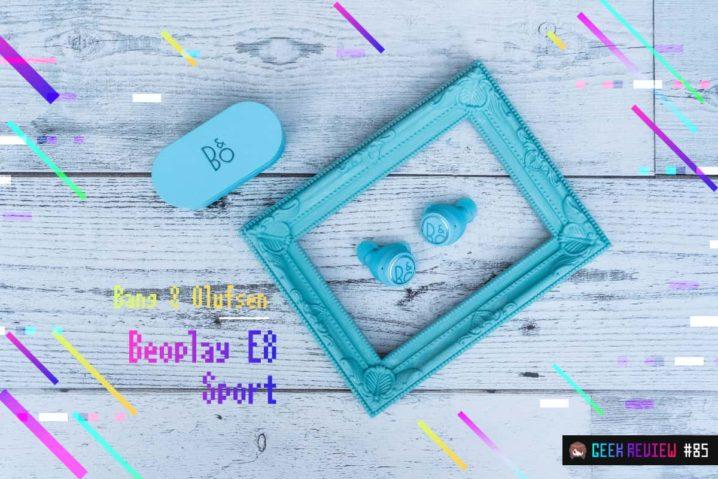 【レビュー】Bang & Olufsen『Beoplay E8 Sport』—美しきティファニーブルーな防塵防水TWS