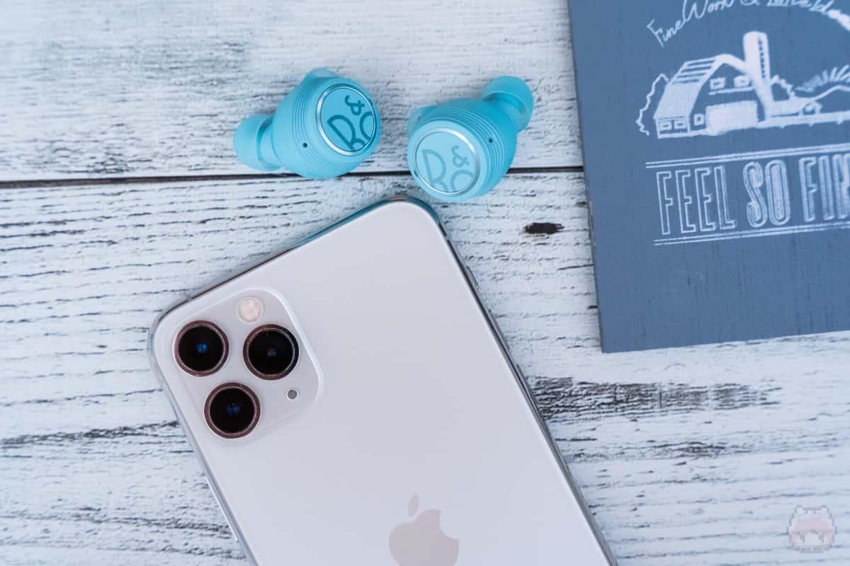 AAC対応でiPhoneでも使いやすい。