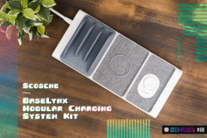 【レビュー】Scosche『BaseLynx Modular Charging System Kit』—革命的!合体できるQi+Apple Watchワイヤレス充電器