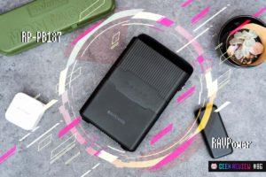 【レビュー】RAVPower『RP-PB187』—USB PDでも充電可能!小型軽量ポータブル電源[PR]