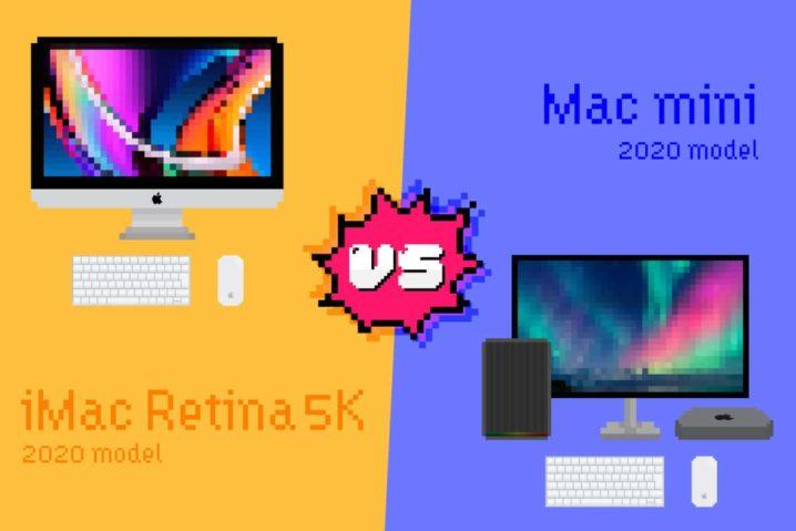 続・デザイナー的 iMac 5K vs Mac mini 比較 –2020年モデル版–