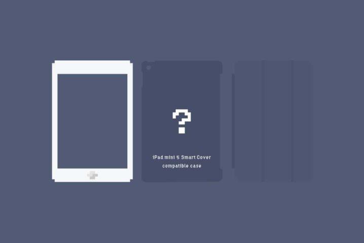 iPad mini 5『Smart Cover』対応ケースの最適解 = AndMesh