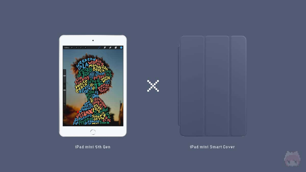 iPad mini(第5世代) & iPad mini Smart Cover
