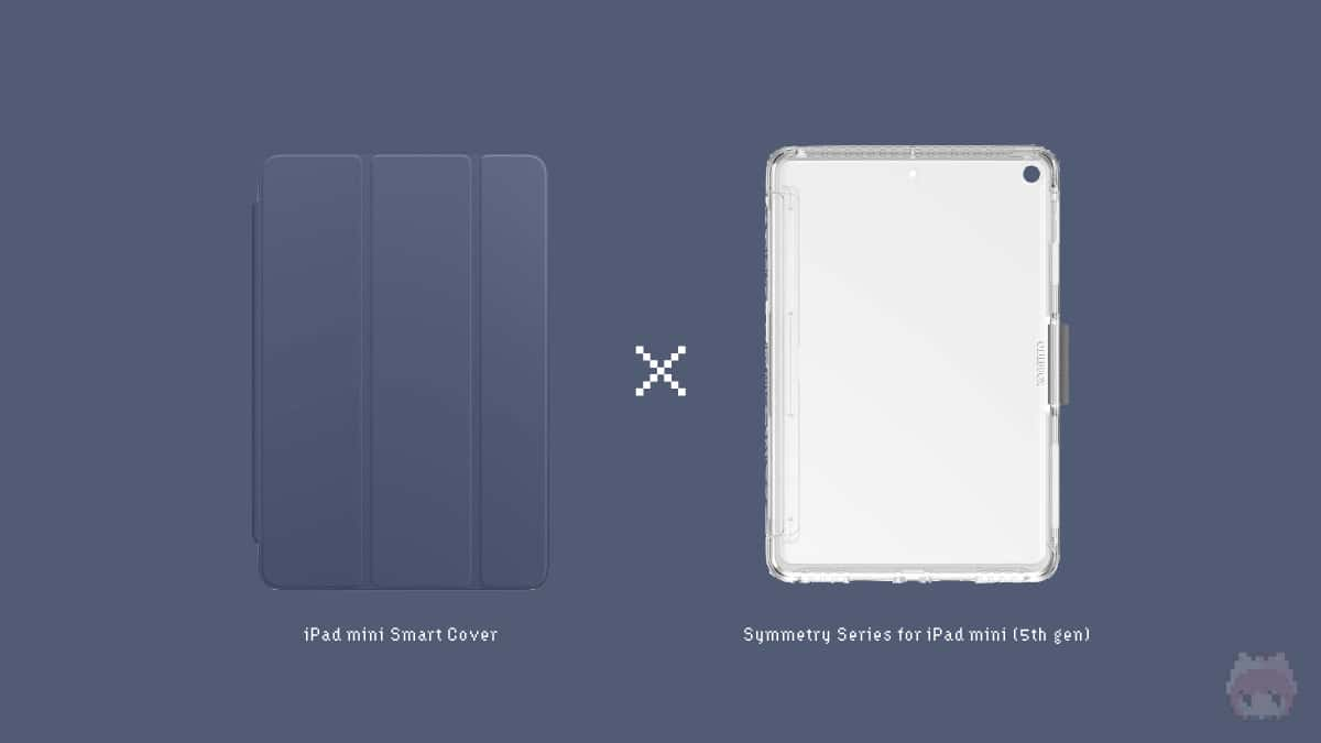 【2】OtterBox『Symmetry Series for iPad mini (5th gen)』