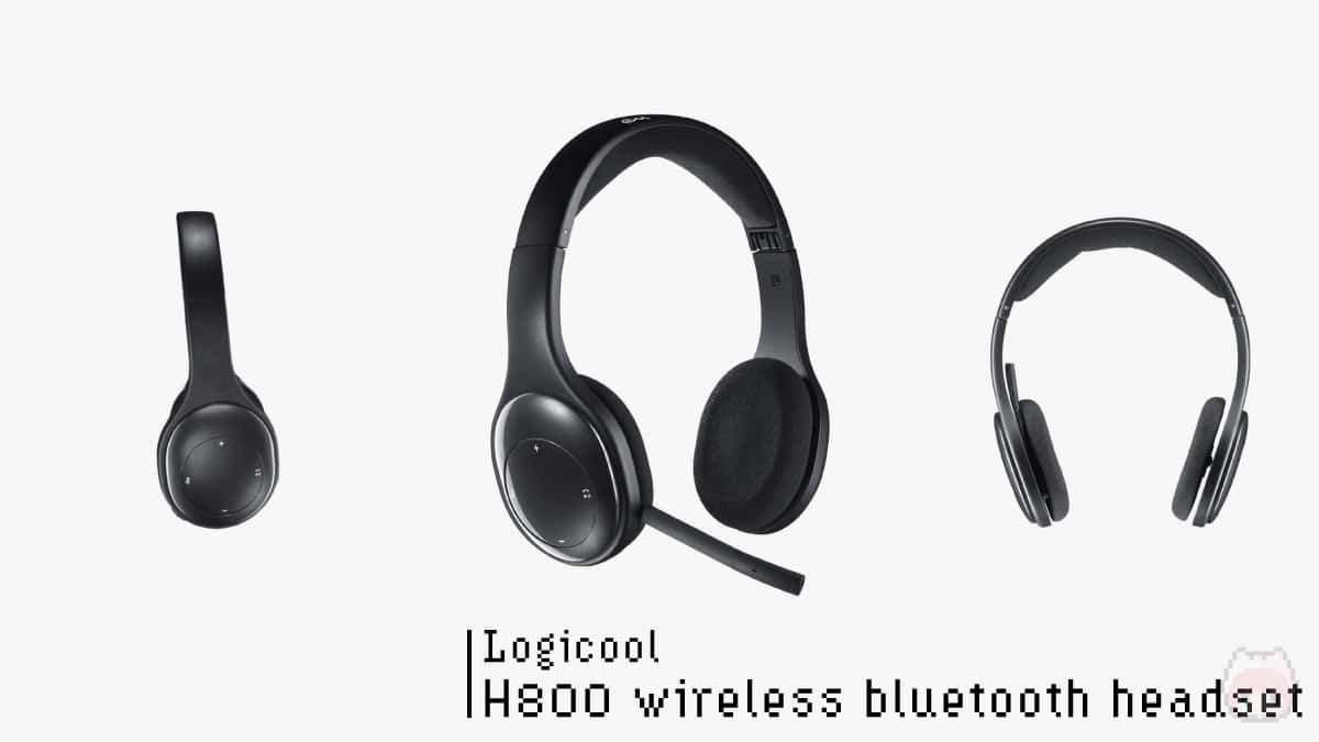 【5】Logicool『H800 wireless bluetooth headset』