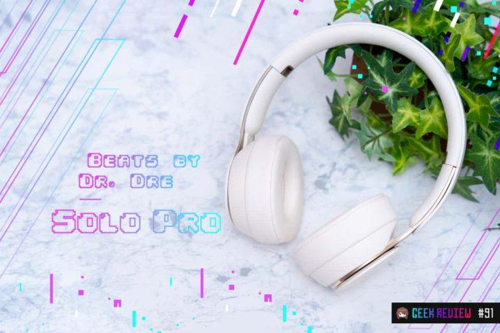 【レビュー】Beats by Dr. Dre『Solo Pro』—ANC搭載Headphone版AirPods Pro