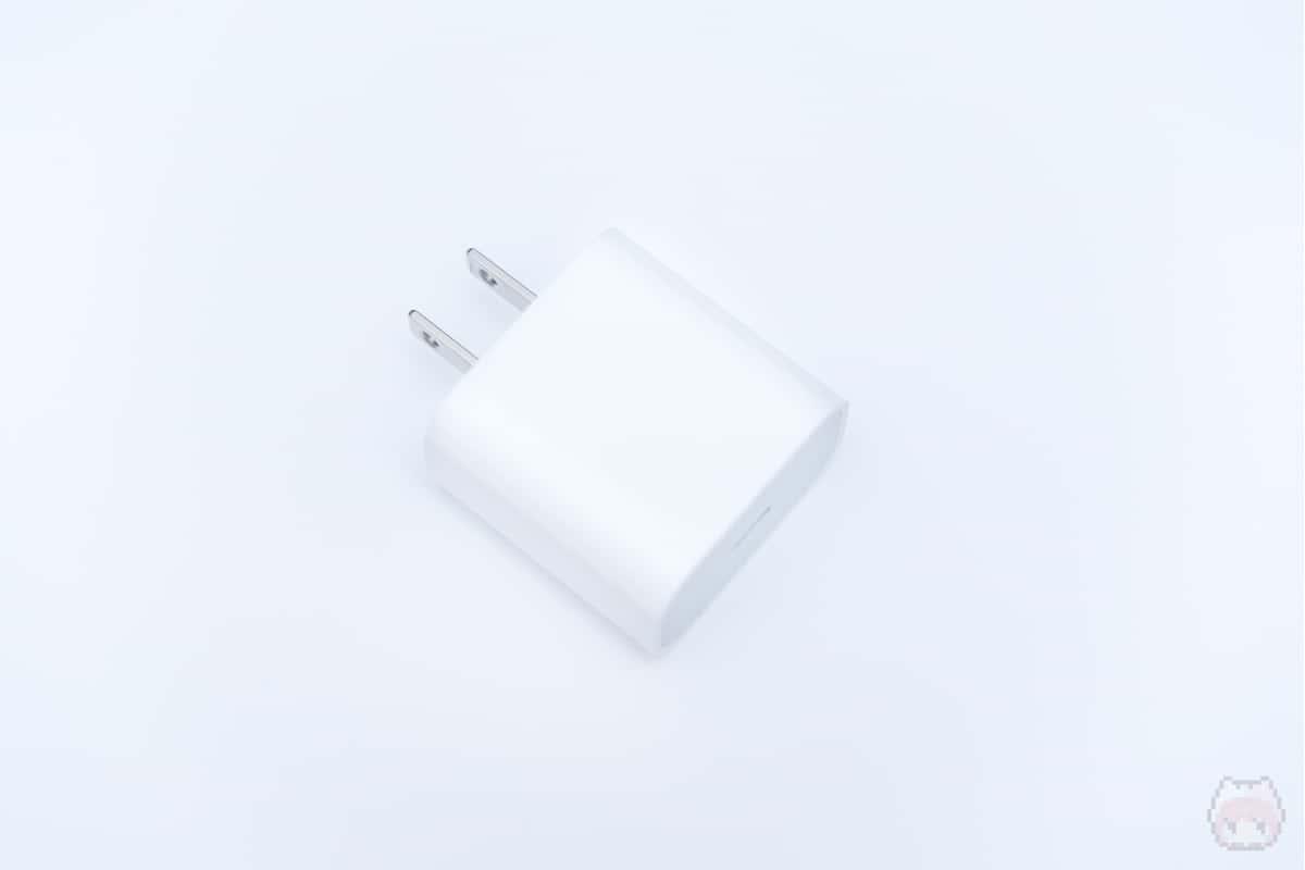 USB-IFどおりのピュアなUSB PD充電器。