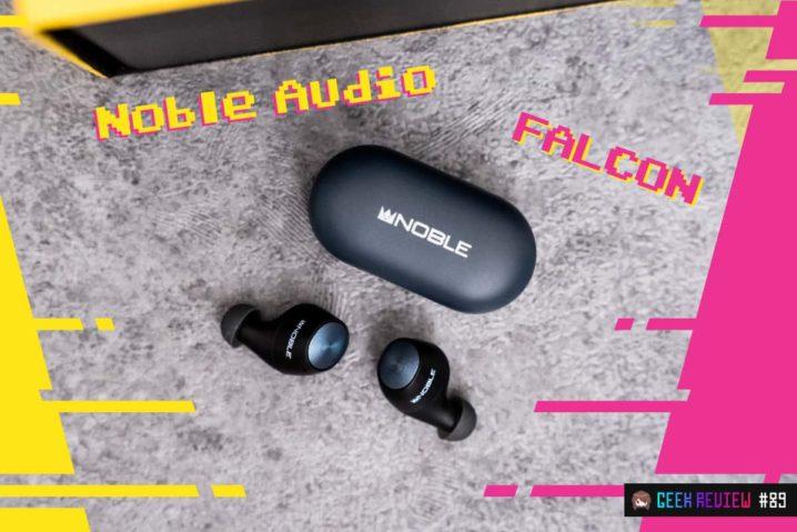 【レビュー】Noble Audio『FALCON』—音質に全振りした至極の完全ワイヤレスイヤホン