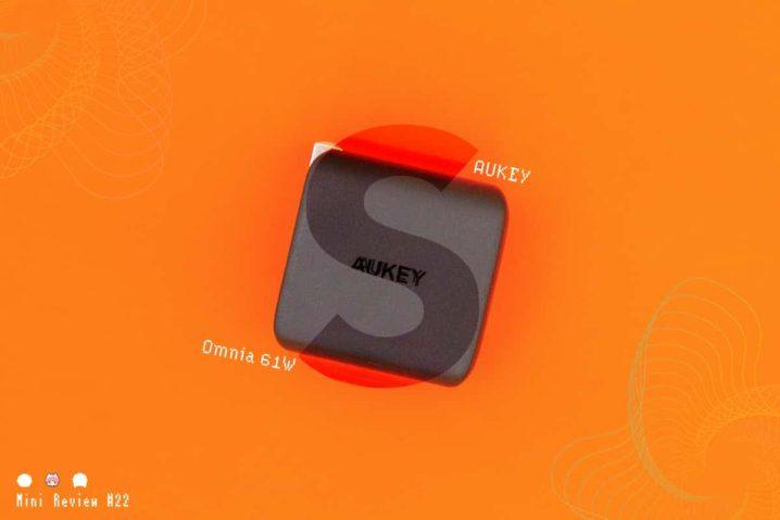 【レビュー】AUKEY『Omnia 61W《PA-B2S》』—USB PD 61WでノートPCに合うGaN充電器