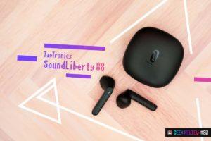 """【レビュー】TaoTronics『SoundLiberty 88』—""""テレワークイヤホン""""という新時代のTWS[PR]"""