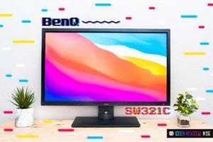 【レビュー】BenQ『SW321C』—Adobe RGBカバー率99%!ドッキングステーションにもなるプロ向け高機能USB-Cモニター[PR]