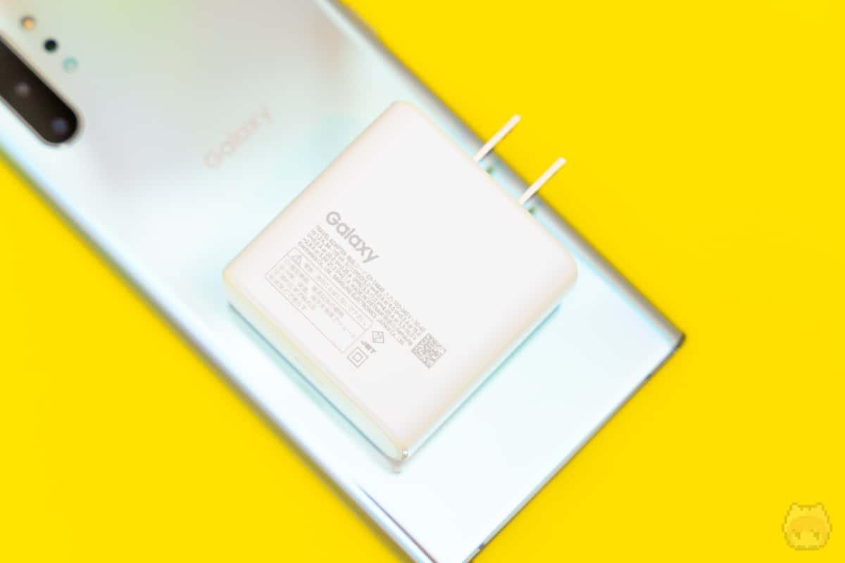最大45WのPPSを利用した急速充電に対応。