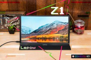 【レビュー】Lepow『Z1』—約2万円!USB-Cモバイルモニターの超コスパ王[PR]