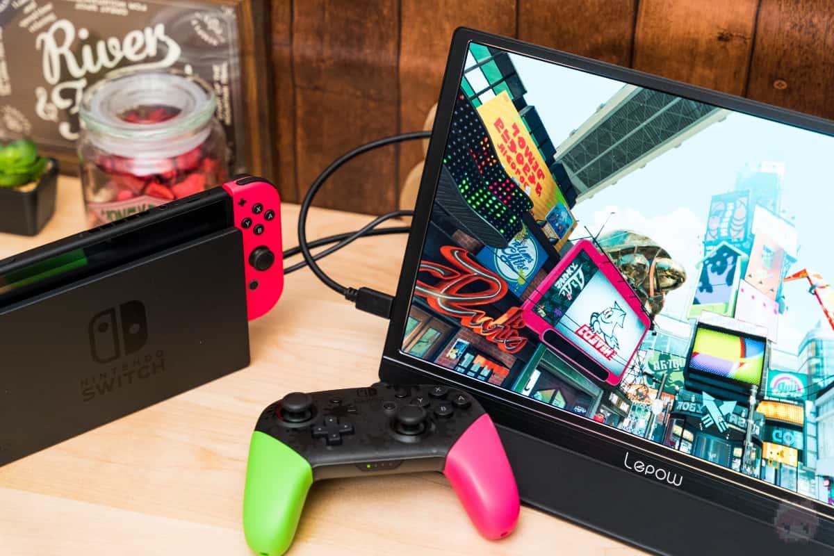 小さなゲーム用モバイルモニターとしてアリ。