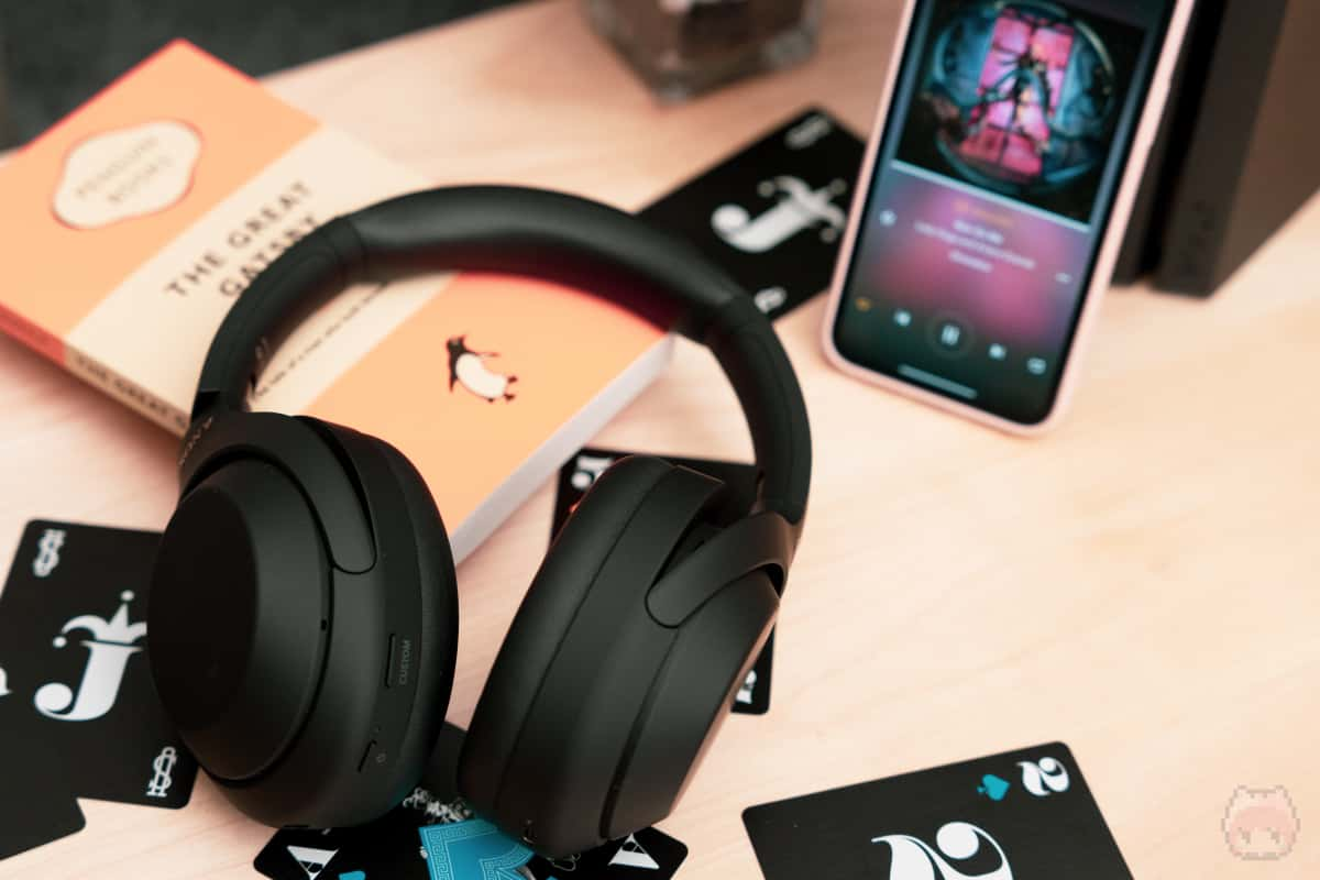 とにかく、ANC搭載Bluetoothヘッドホンの中では最高峰の音質。