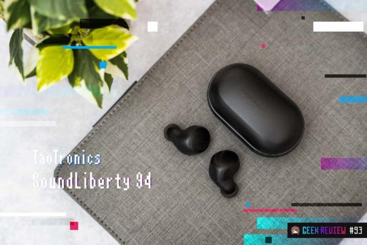 【レビュー】TaoTronics『SoundLiberty 94』—ANC完全ワイヤレスイヤホンの価格破壊[PR]