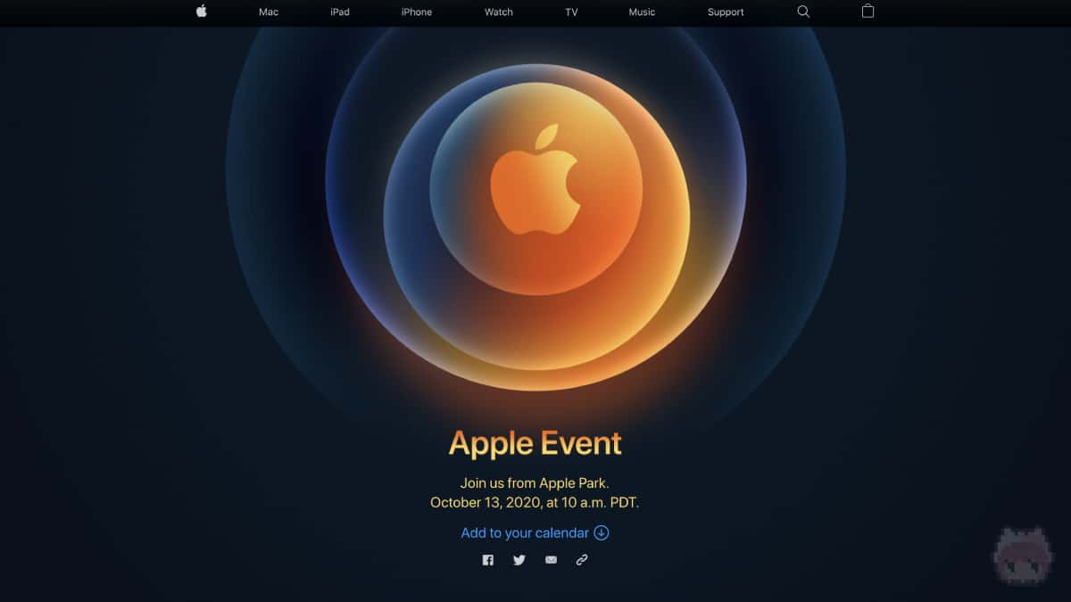 Apple Special Event October 2020