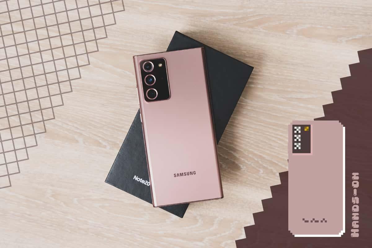 Galaxy Note20 Ultra 5Gハンズオン:カメラは素敵だけど超出っ張る