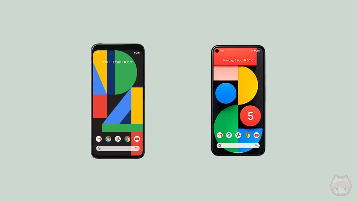 Pixel 4 & Google Pixel 5