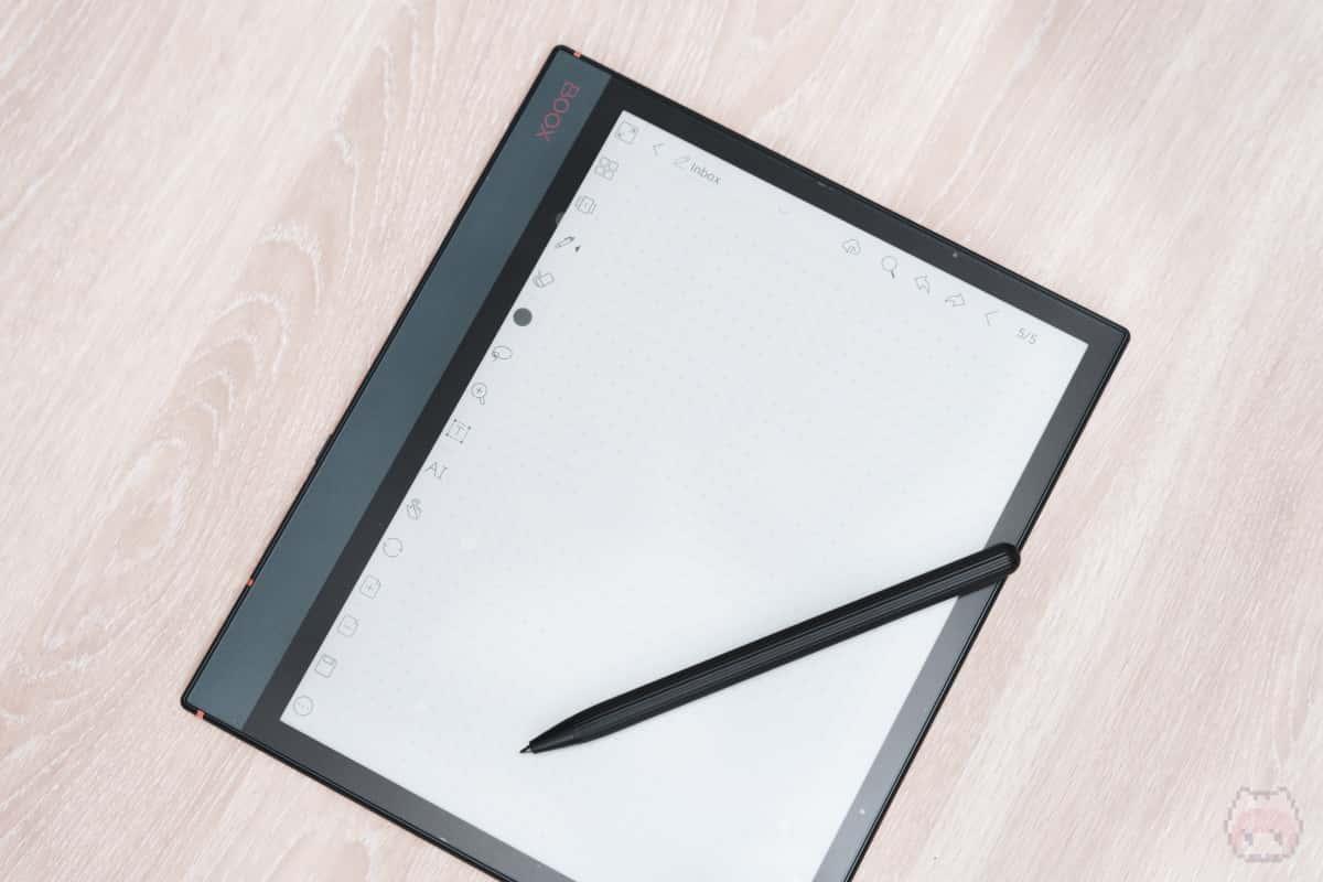 BOOXがお絵描きE Inkタブレットになった瞬間。