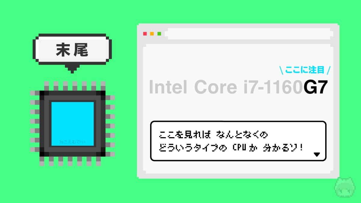 【指標2】CPU末尾