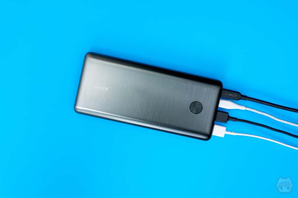 パススルー充電非対応以外は最強に近いモバイルバッテリー。