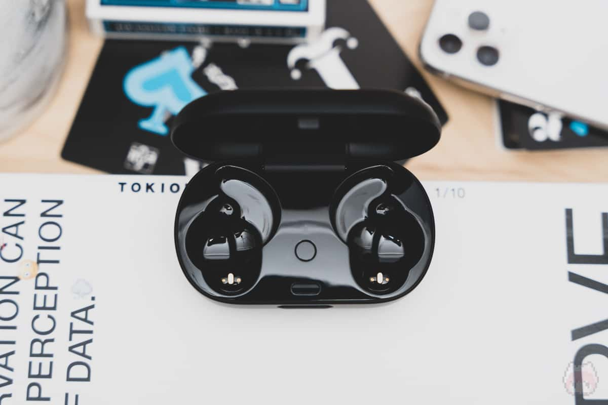Bose QuietComfort Earbuds充電ケース内面