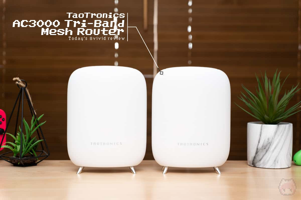 TaoTronics AC3000 Tri-Band Mesh Router - TaoTronics