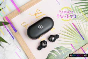 """【レビュー】Yamaha『TW-E7A』—リスニングケアが斬新!ANCよりも""""聴かせる""""な完全ワイヤレスイヤホン"""