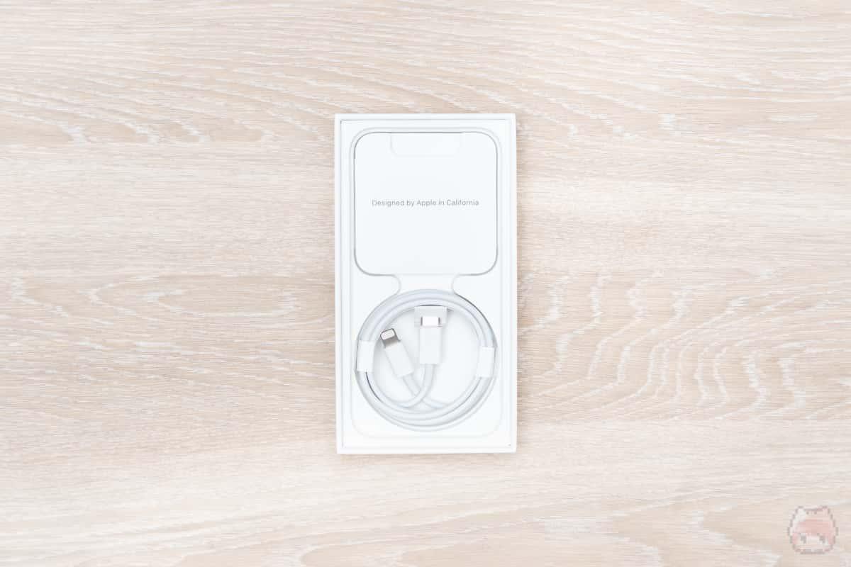 iPhone 12 mini箱内部