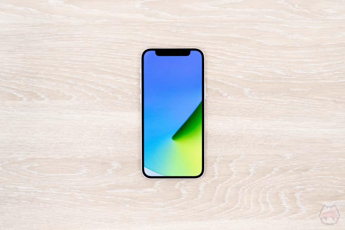iPhone 12 mini本体表面