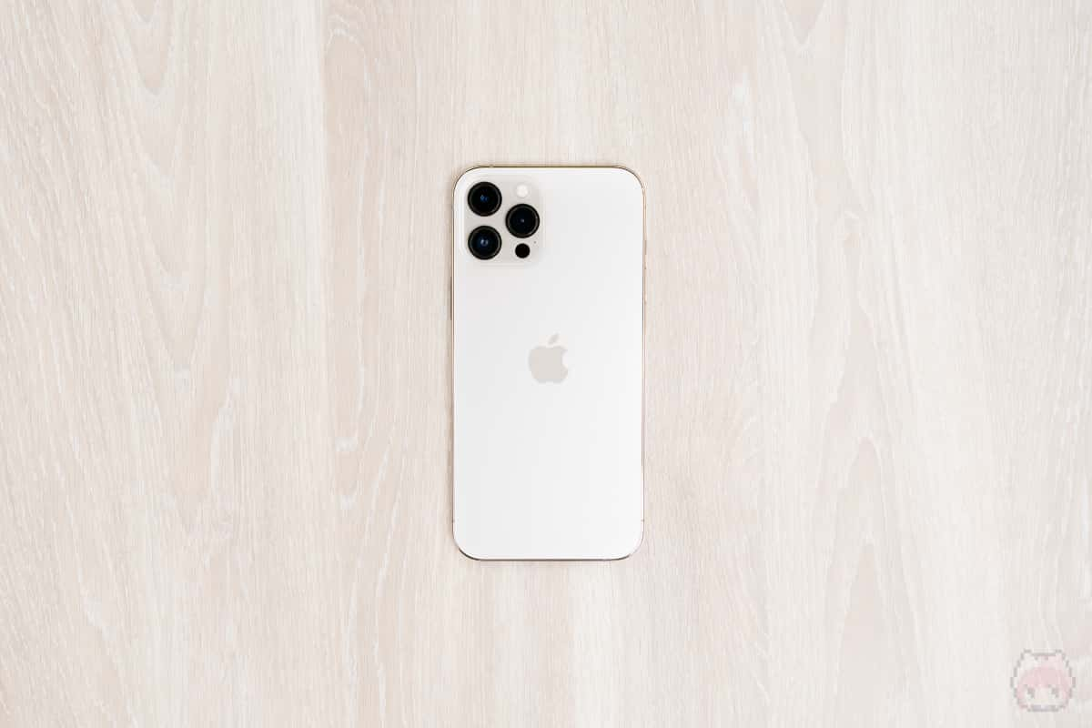 iPhone 12 Pro Max本体裏面