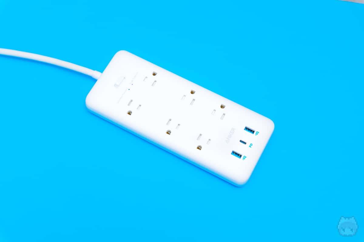 電源タップのUSB Type-Cポートをどう使うか。