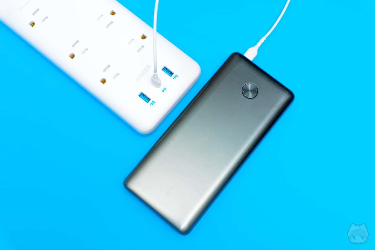 30WのUSB PDはモバイルバッテリーの充電に使うが吉。