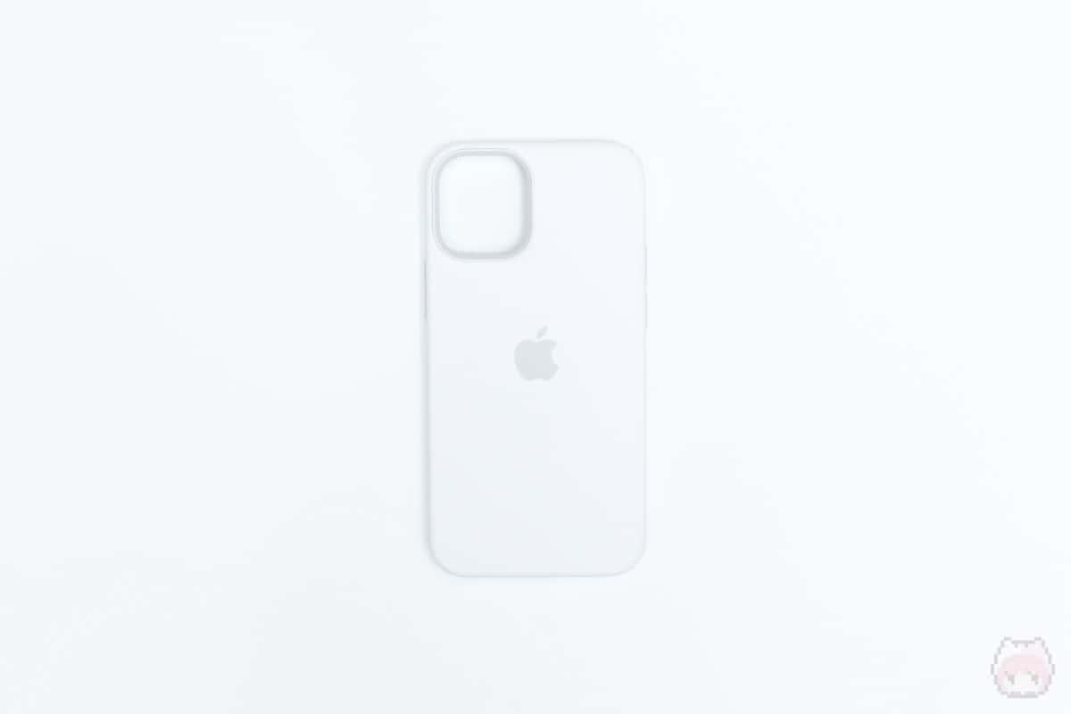 MagSafe対応iPhone 12 miniシリコーンケース外面
