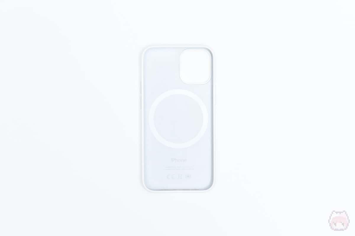 MagSafe対応iPhone 12 miniシリコーンケース内面