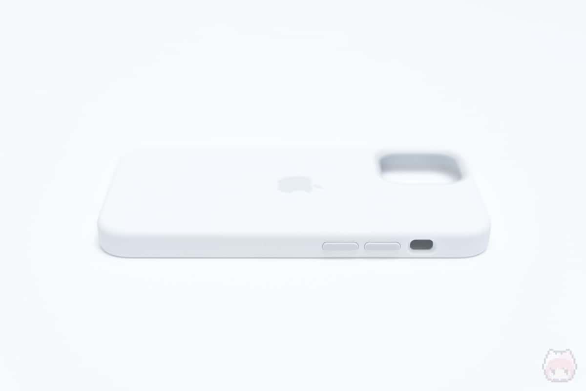 MagSafe対応iPhone 12 miniシリコーンケース左面