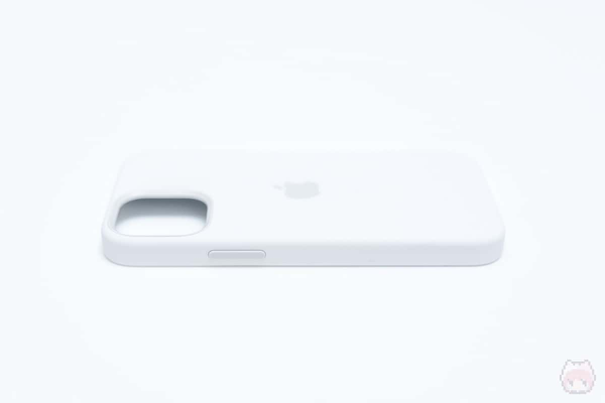 MagSafe対応iPhone 12 miniシリコーンケース右面