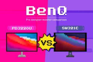 BenQモニター『PD3220U』・『SW321C』徹底比較——ユーザー視点で特徴と買うべき層を考える[PR]