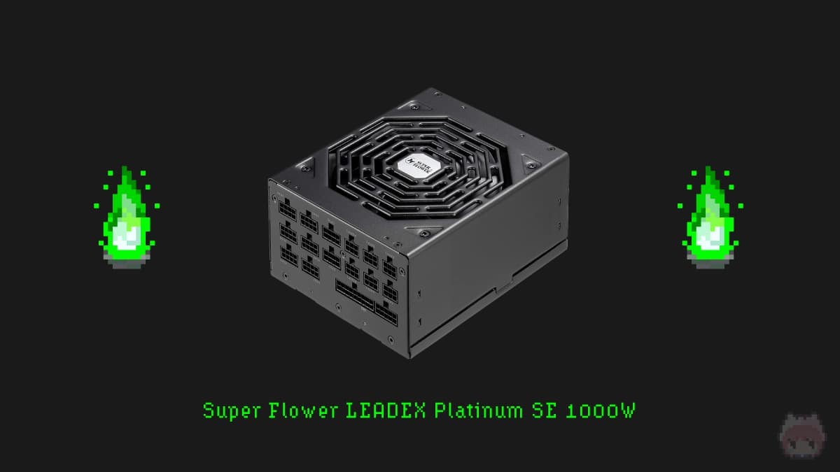 Super Flower LEADEX Platinum SE 1000W