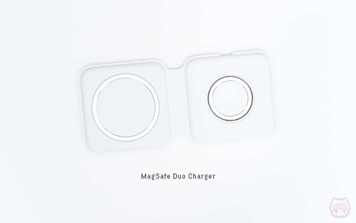 MagSafeデュアル充電パッド