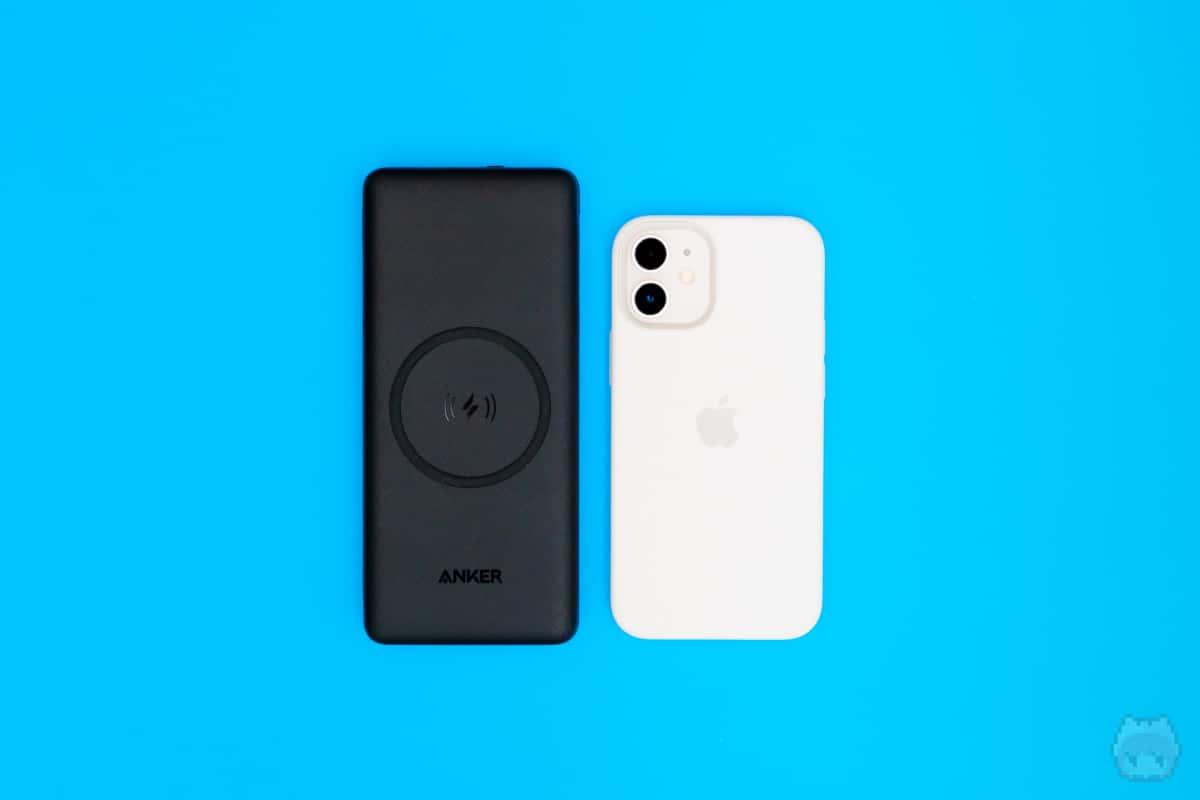 iPhone 12 miniとサイズ比較してみた。